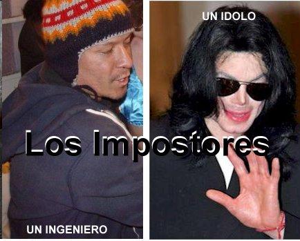 Los Impostores-Show 07 Michael Jackson vs el Amor de Carlos