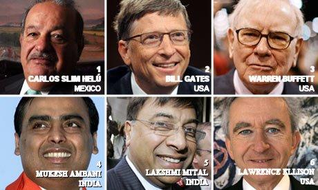 El Hombre más Rico del Mundo del 2010